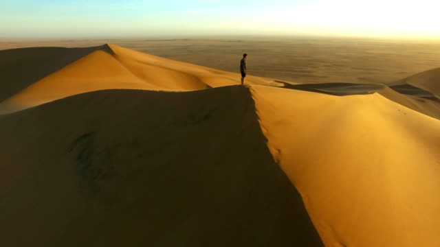 Journeying into the desert video