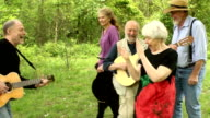 Joyful Seniors Dancing in Nature video