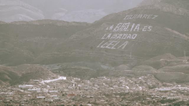 Juarez Mexico Hillside video