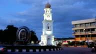 Jubilee Clock Tower Georgtown Penang Malaysia video