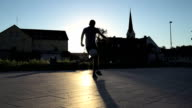 HD SUPER SLOW-MO: Juggling And Kicking A Ball video