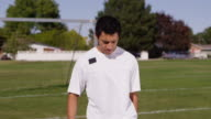 Juggling with soccer ball video