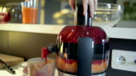 Juicing Fruit and Vegetables video