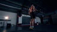 Jump rope exercise video