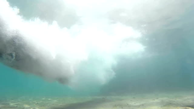 Jump to the Head Into the Sea in Slow Motion video