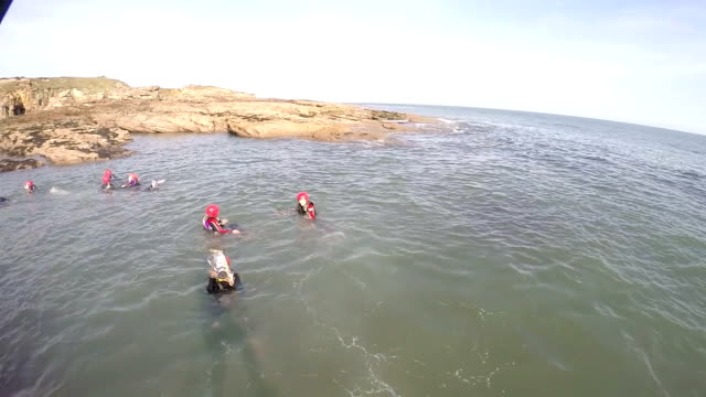 POV - Jumping into the Sea video