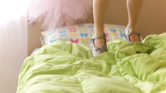 Jumping on the bed video