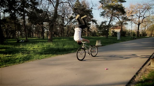 jumping with a bike video