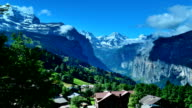 Jungfrau scenic area in Switzerland video