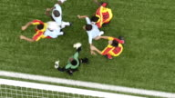 Junior soccer action video