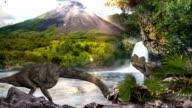 jurassic park scenery video