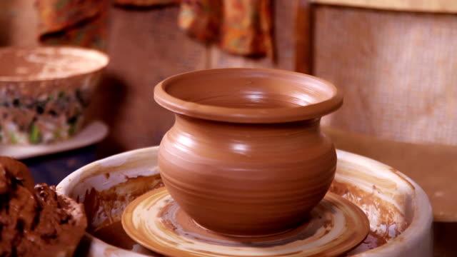 Just made Potter's pot close-up video