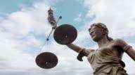 Justice statue video
