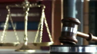 Justice weight with gavel video