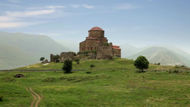 Jvari Monastery. Mtskheta, Georgia video