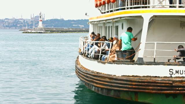 4K: Kadikoy ferry terminal istanbul video