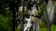 Kadinggou holy mountains waterfall in Tibet 02 video