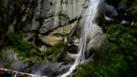 Kadinggou holy mountains waterfall in Tibet 04 video