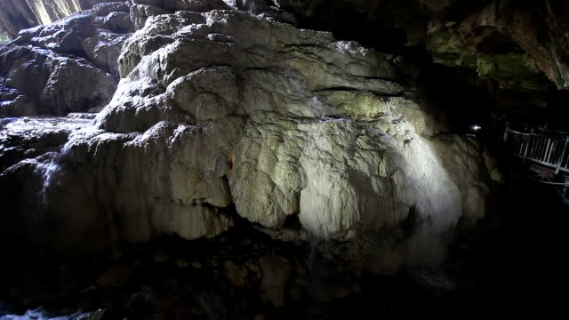 HD: Kaklik Cave, Denizli, Turkey video
