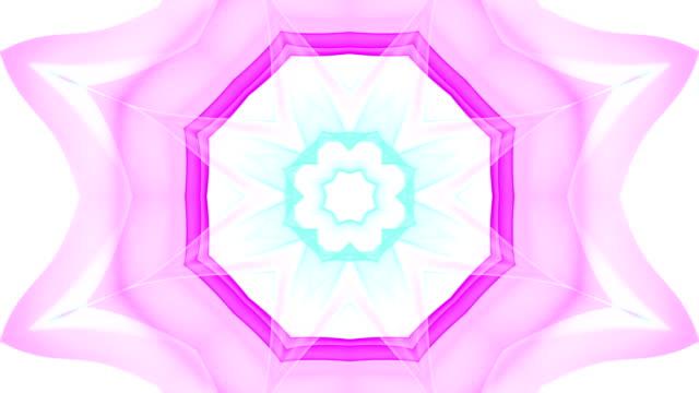 Kaleida Shapes Background. video