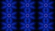 Kaleidoscope Abstract Disco Dance Lights, Animation, Rendering, Background, Loop video