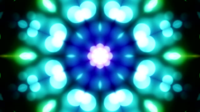 Kaleidoscope loopable background video