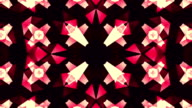 Kaleidoscope motion background video