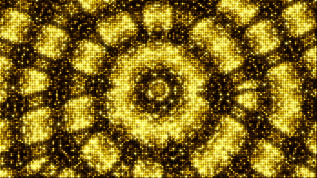 kaleidoscope sequence. Abstract motion graphics background video