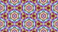 Kaleidoscopic background video