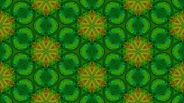 Kaleidoscopic pattern video