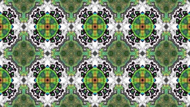 Kaleidoscopic seamless loop video