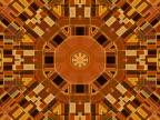 PAL: Kaleidoscopic tunnel (loop) video