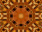 NTSC: Kaleidoscopic tunnel (loop) video