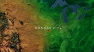 Kansas City 4K Zoom In video