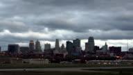 Kansas City Missouri Clay County Downtown City Skyline Sunrise video