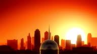 Kansas City Missouri USA America Skyline Sunrise Take Off video