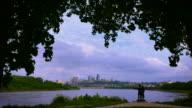 Kansas  City  Time  Lapse Zoom In 4k video