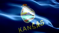 Kansas state flag video