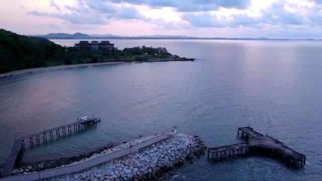 Kao Laem Ya and Samed National Park. sea landscape, rayong province, Thailand. video