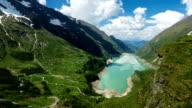 Kaprun Reservoir Hohe Tauern - Time Lapse video