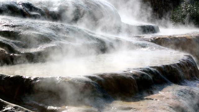 Karahayit Hot Springs, Pamukkale, Denizli, Turkey video