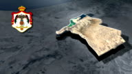 Karak with Coat Of Arms Animation Map video