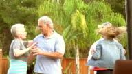 SLOW MOTION -Karaoke Mature Couples Garden video