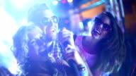 Karaoke party. video