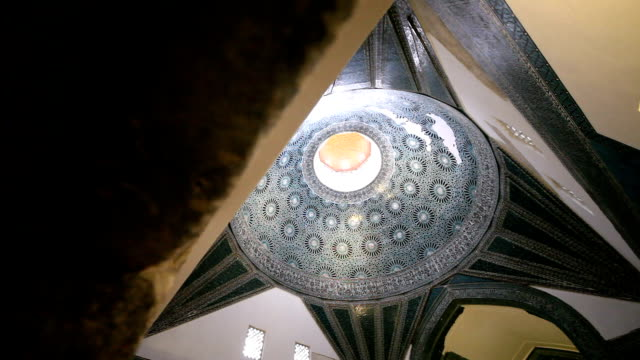 karatay museum, konya, turkey. video