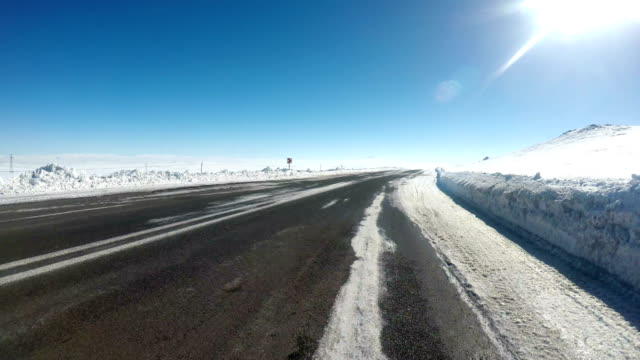 Kars Highway at East of Turkey video
