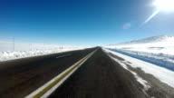 Kars Highway at East of Turkey video