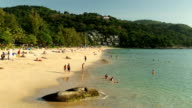 kata noi beach phuket island thailand video