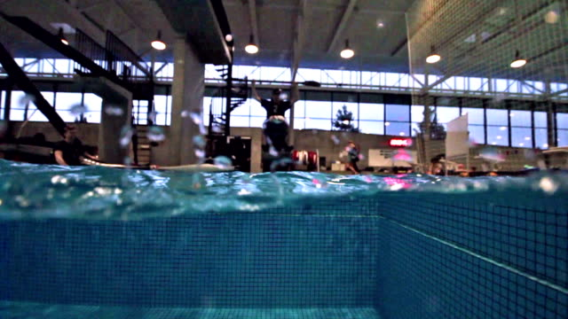 Kayak dive jump video