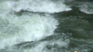 Kayak on whitewater video